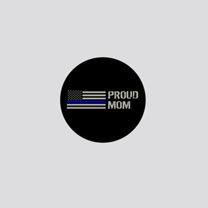 Police: Proud Mom Mini Button